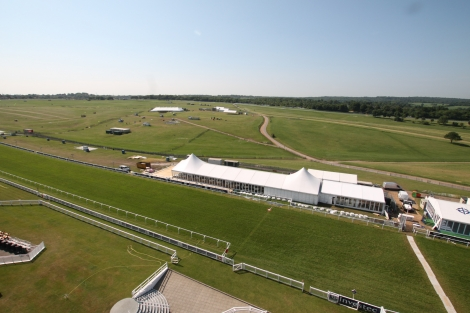 Epsom Racecourse Time Lapse Video
