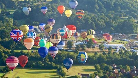 Balloons at the 2015 Bristol International Balloon Fiesta
