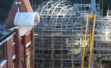 Barcardi Construction Time Lapse Project
