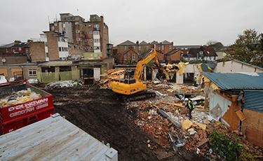 Demolition Time Lapse Showreel