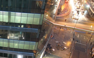 Multiplex Aldgate Tower Construction Time Lapse