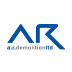 AR Demolition logo