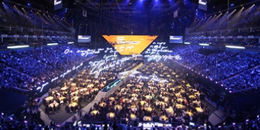 Media Production at the o2 arena London