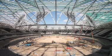 London Olympic Stadium Time Lapse and Site Monitoring