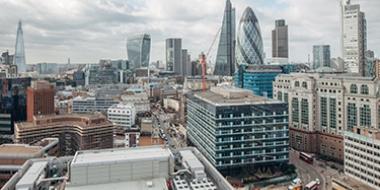 London Skyline Time Lapse
