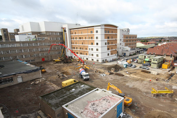 Sunderland NHS Trust: new hospital wing